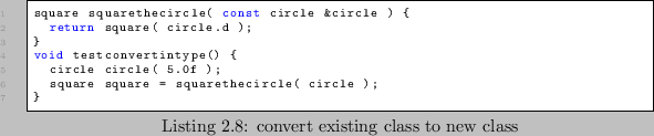 Existence Based Processing